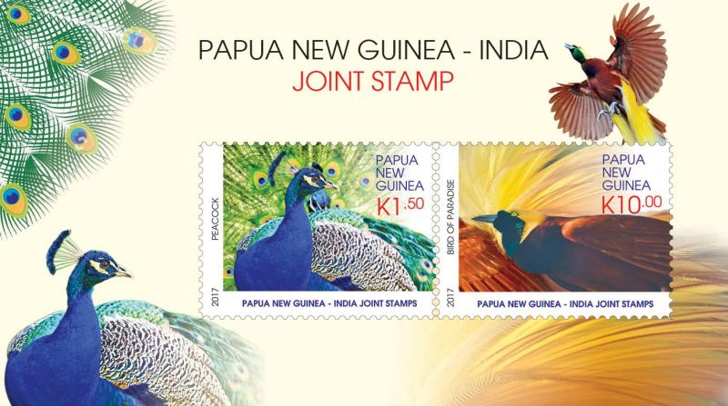PAPUA NEW GUINEA - INDIA JOINT STAMP ISSUE   Post PNG