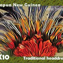 Traditional Headdress - Papua New Guinea
